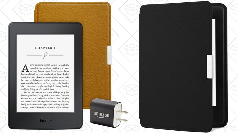 Kindle Paperwhite Essentials Bundle, $128 with code 9ZHMJMIP