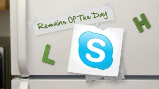 Illustration for article titled Remains of the Day: Skype Adds Facebook Login and Integrates with Windows Messenger