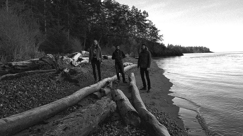 Nick Yacyshyn, Brian Cook, and Aaron Turner of Sumac (Photo: Faith Coloccia)