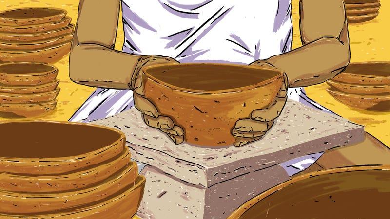 Dona Cadu, the Oldest Ceramicist in Brazil
