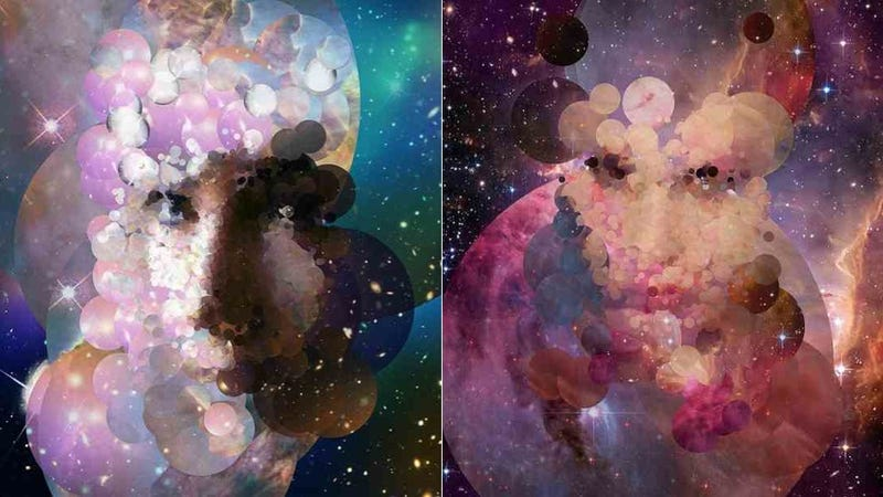 Illustration for article titled These Portraits Are Made from Hubble Images (And Yours Can Be, Too)
