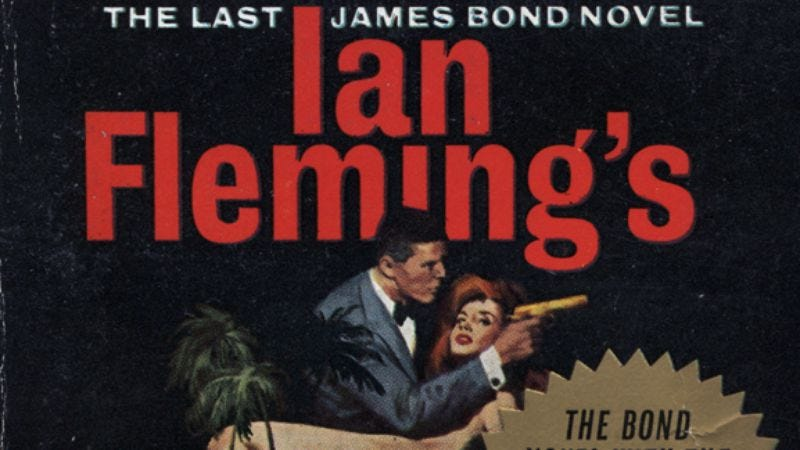 Illustration for article titled The Man With The Golden Gunby Ian Fleming