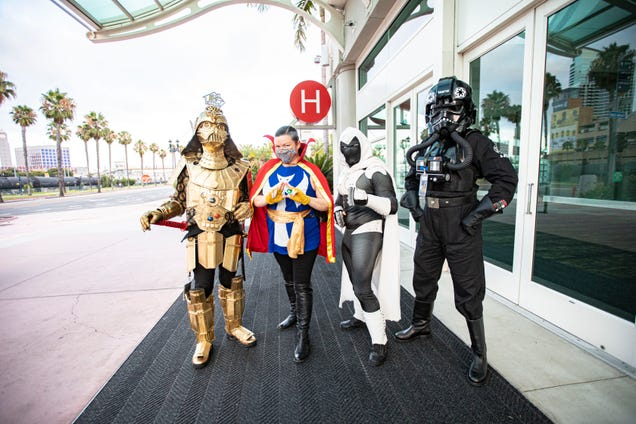 San Diego Comic-Con 2021 Will Remain a Virtual Event