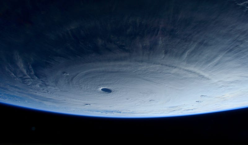 Illustration for article titled This Is What A Super Typhoon Looks Like From Space