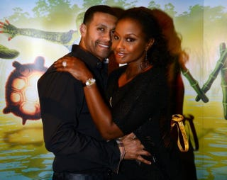 Real Housewives of Atlanta cast member Phaedra Parks and Apollo Nida in 2012Rick Diamond/Getty Images for Cirque du Soleil