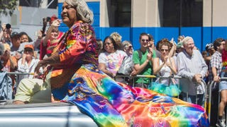 Miss Major Griffin-Gracy at the Pride Parade in San Francisco, June 29, 2014Wikimedia Commons