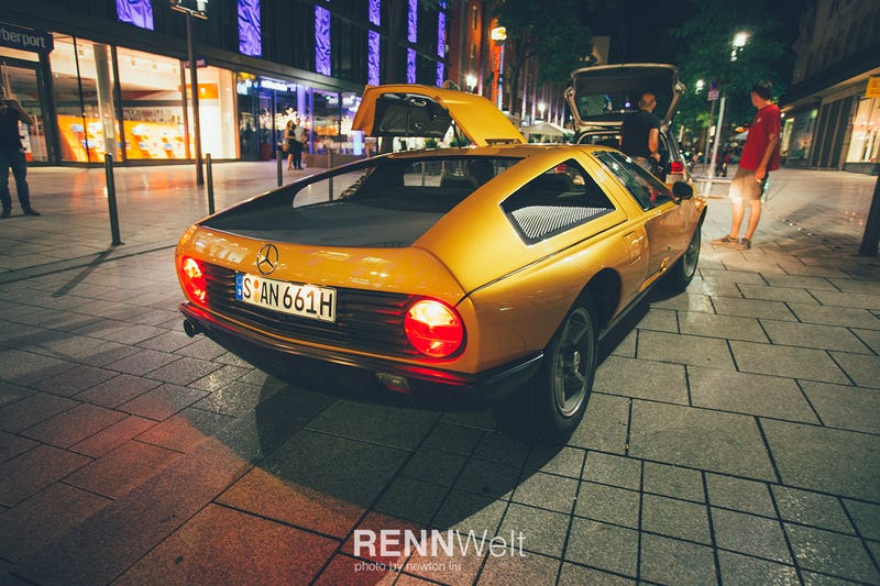 Illustration for article titled Jay Leno drives the RENNWelt featured C111