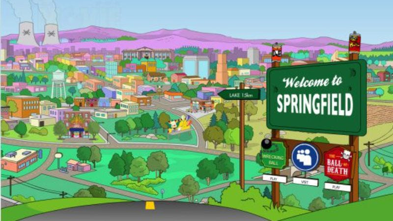 Illustration for article titled Matt Groening reveals the location of Springfield, sort of