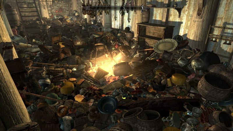 Illustration for article titled What Do You Hoard In Skyrim?