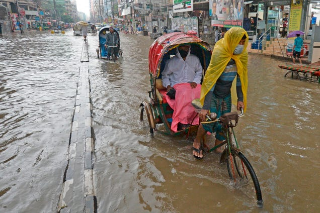 Up to a Third of Bangladesh Is Underwater