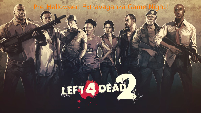 Illustration for article titled Left 4 Dead 2 Pre-Halloween Extravaganza Game Night Returns!