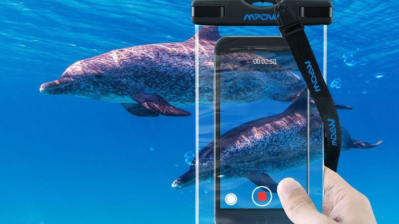 Mpow Smartphone Dry Bag, $5 with code KUKGRFA6 | 3-Pack, $11 with code RADMLMIE