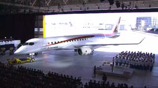 Illustration for article titled This Mitsubishi Regional Jet Is Japan's First New Airliner In 50 Years