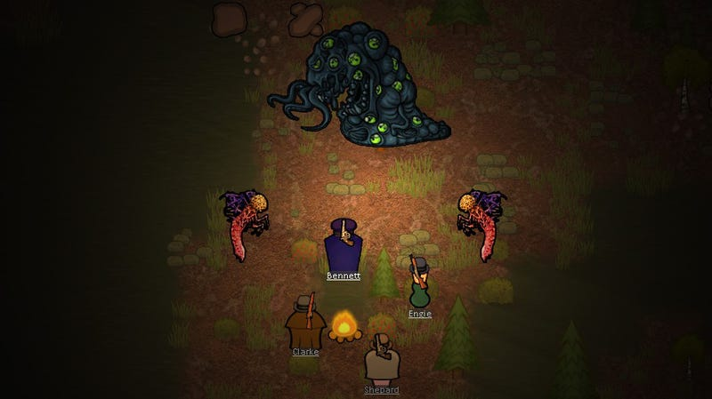 Illustration for article titled Mod Turns RimWorld Into A Lovecraftian Nightmare