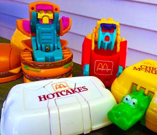 Illustration for article titled A Look Back At McDonald's Best Happy Meal Toys Ever: Changeables