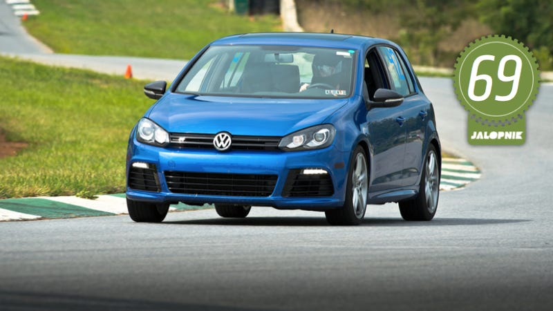 Illustration for article titled 2012 Volkswagen Golf R: The Jalopnik Review