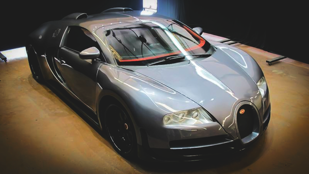 this cheap bugatti veyron is exactly what you 39 ll need to impress idiots. Black Bedroom Furniture Sets. Home Design Ideas