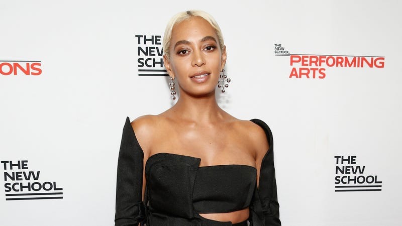 Solange Knowles attends the 70th Annual Parsons Benefit on May 21, 2018 in New York City.