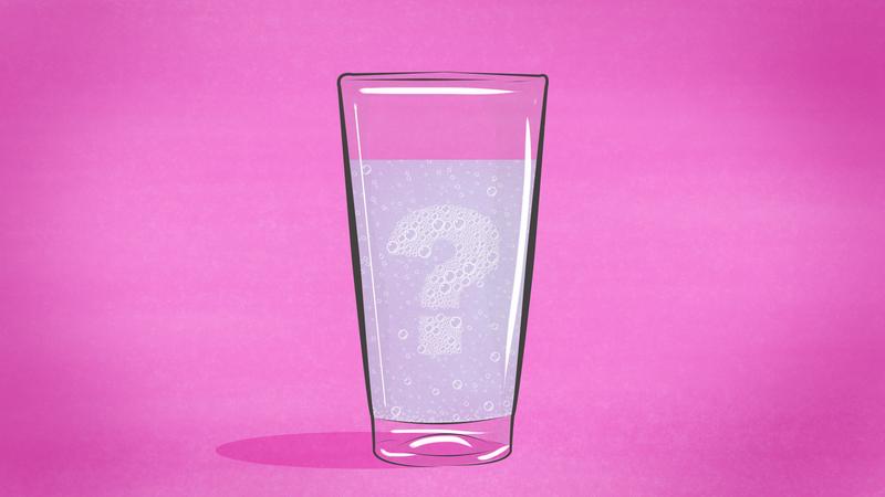 Illustration for article titled Three Myths About Sparkling Water, Debunked