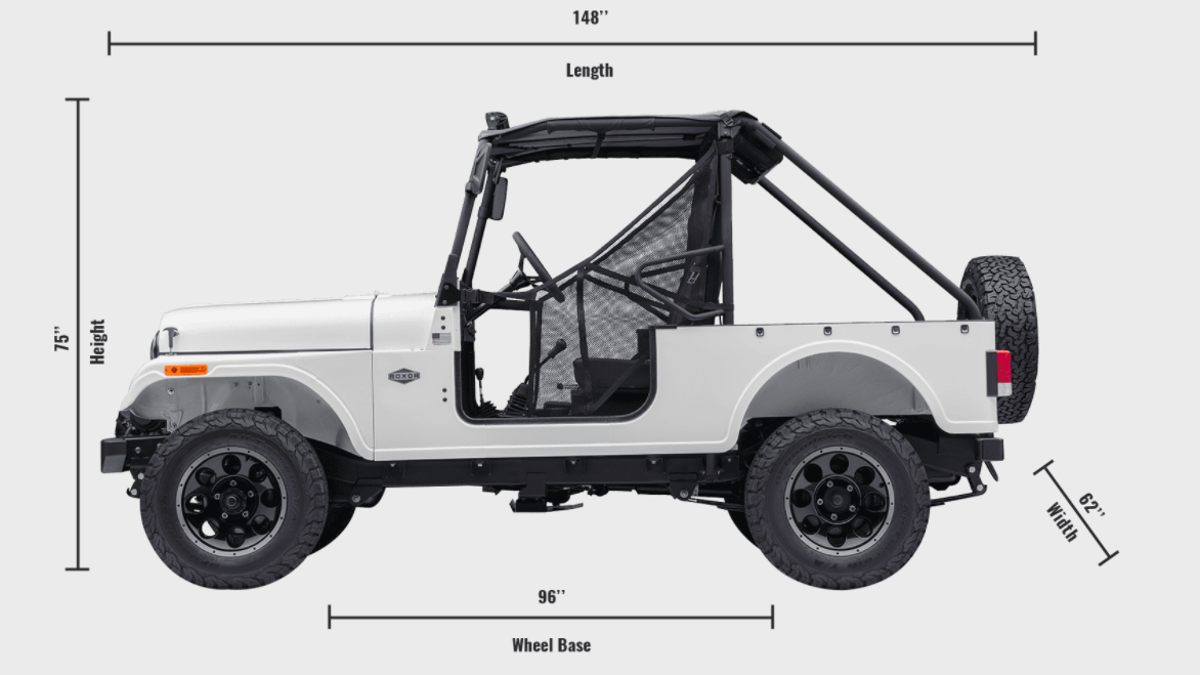 Heres How Similar The Mahindra Roxor Is To An Old Jeep Cj Cj5 Frame Repair