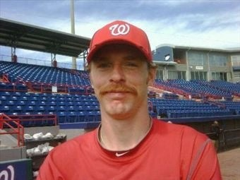 Illustration for article titled Nationals Pitcher Shaves Mustache, Gains Ability To Pitch