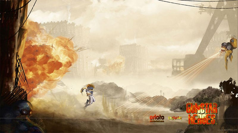 Tart Up Your PS3 With This Gunstar Heroes Theme