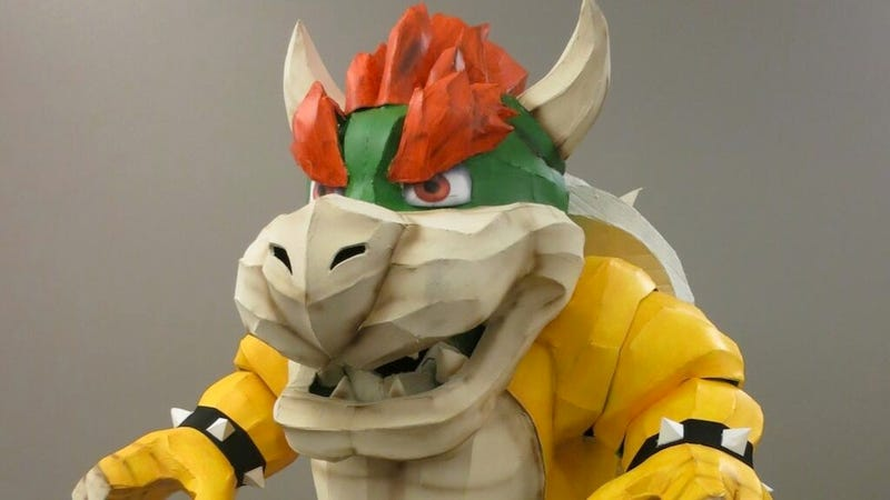Illustration for article titled Bowser Makes For An Incredible Halloween Costume