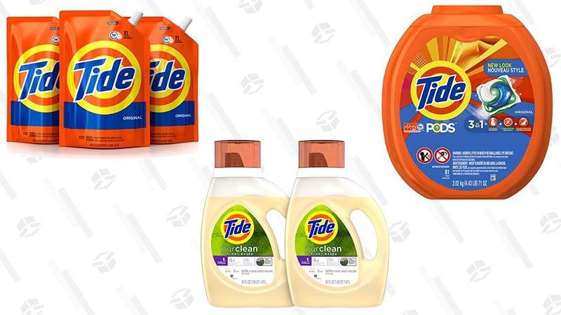 $4 de descuento en detergente | Amazon | El descuento aparece al procesar el pedidoGráfico: Shep McAllister