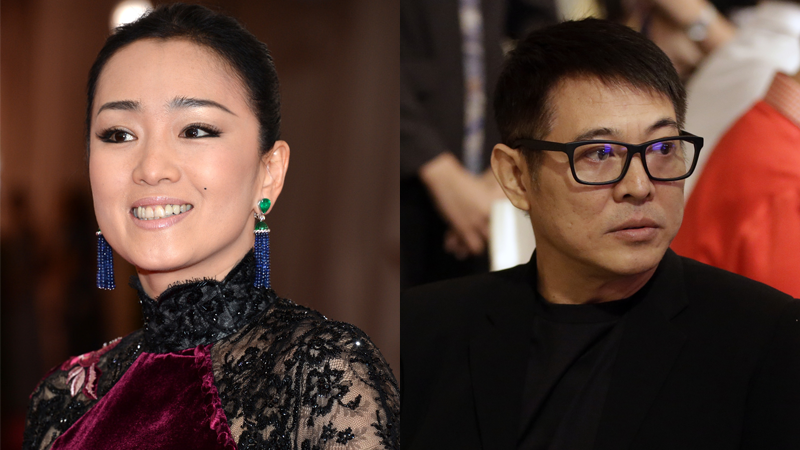 Left to right: Gong Li and Jet Li will be part of Disney's live-action Mulan.