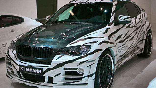 hamann bmw x6 tycoon evo tuning in the bad taste. Black Bedroom Furniture Sets. Home Design Ideas