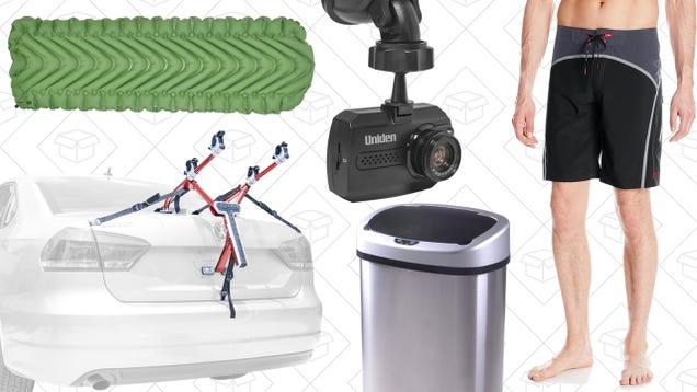 Sunday's Best Deals: Speedo Gold Box, Allen Sports Bike Racks, Dash Cams, and More