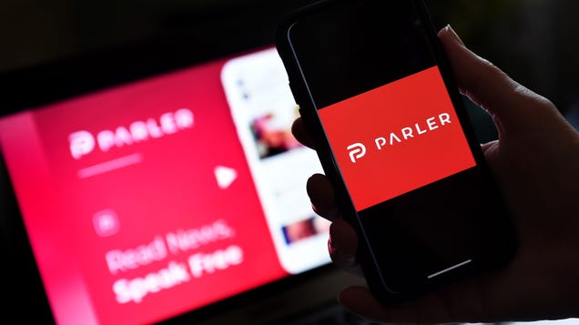 Free Speech  Social Network Parler Tops App Store Downloads After Trump Loses Election