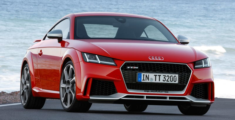 The Crazy Five-Cylinder 2017 Audi TT RS Will Start At $65,785