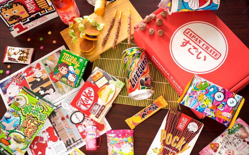 Illustration for article titled Experience the Fun of Japan with a Monthly Candy Crate: Save 10% + Free DIY Item