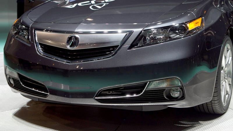 Illustration for article titled 2012 Acura TL: First Photos