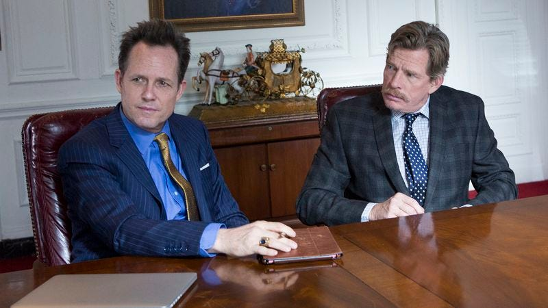 Dean Winters, Thomas Haden Church (Photo: HBO)
