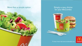 Illustration for article titled McDonald's to Offer Hip and Trendy Side Salads With Value Meals