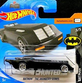 Illustration for article titled BTAS Batmobile