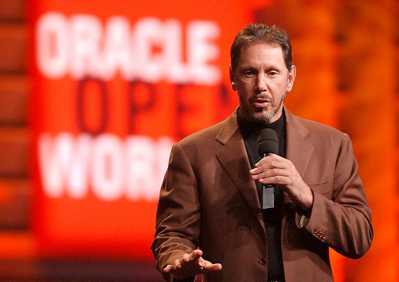 Illustration for article titled Larry Ellison's Oracle Started As a CIA Project