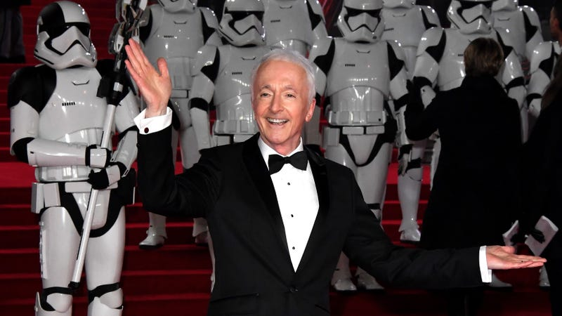 Illustration for article titled Anthony Daniels is in Solo, but he's not playing C-3PO for once
