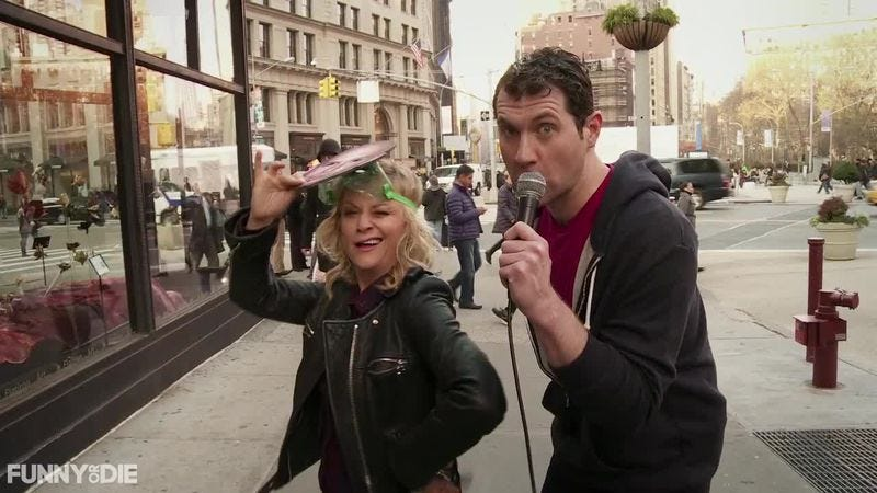 Illustration for article titled Billy Eichner and Julie Klausner to star in an Amy Poehler-produced pilot