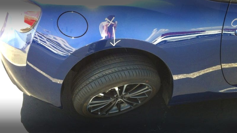 Illustration for article titled This FR-S Was Hooned Too Hard