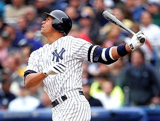 Illustration for article titled A-Rod Booed For Confusing Yankee Fans
