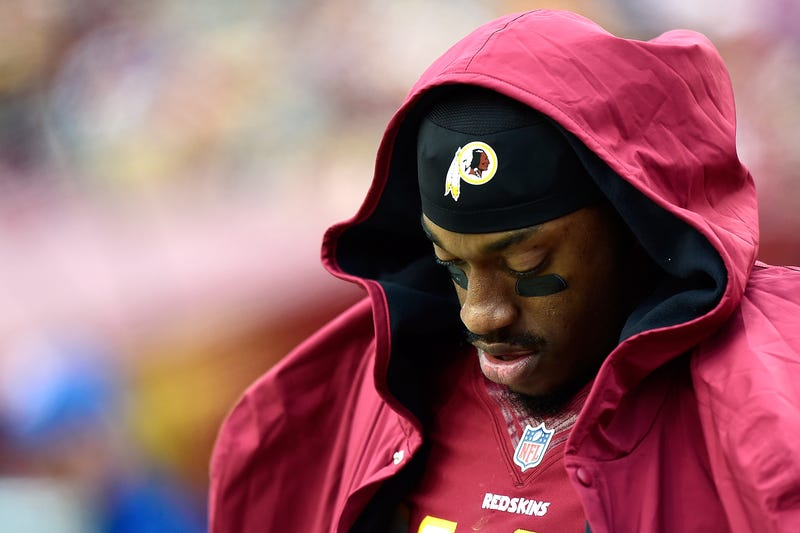 """Illustration for article titled Rodney Harrison: """"I Think You Have To Get Rid Of"""" RGIII"""