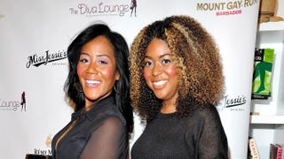 Co-owners of Miss Jessie's, and sisters, Miko and Titi Branch attend the 2011 Diva Lounge celebration at the Tracy Reese Boutique on May 18, 2011, in New York. Joe Corrigan/Getty Images