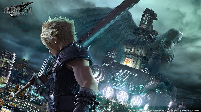Illustration for article titled Final Fantasy VII Remake Is Coming In March 2020
