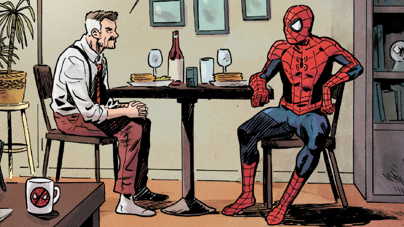Image: Marvel Comics. Spectacular Spider-Man #6 art by Michael Walsh and Ian Herring.