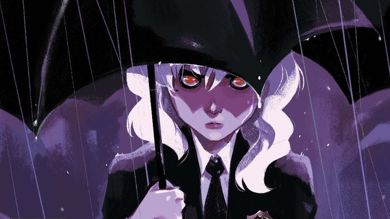 Illustration for article titled Exclusive DC preview: Gotham Academy mourns a death in the family