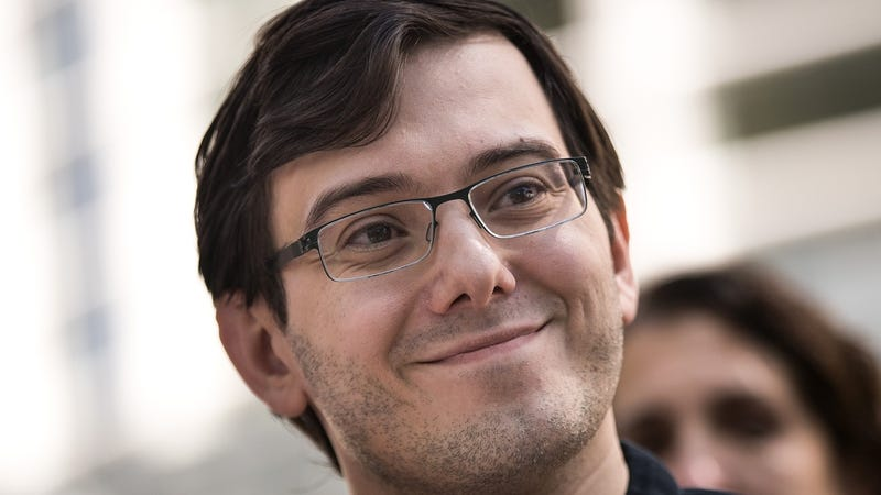 photo image Martin Shkreli Says He'll Still Make Money From Jail, Will Read Philosophy