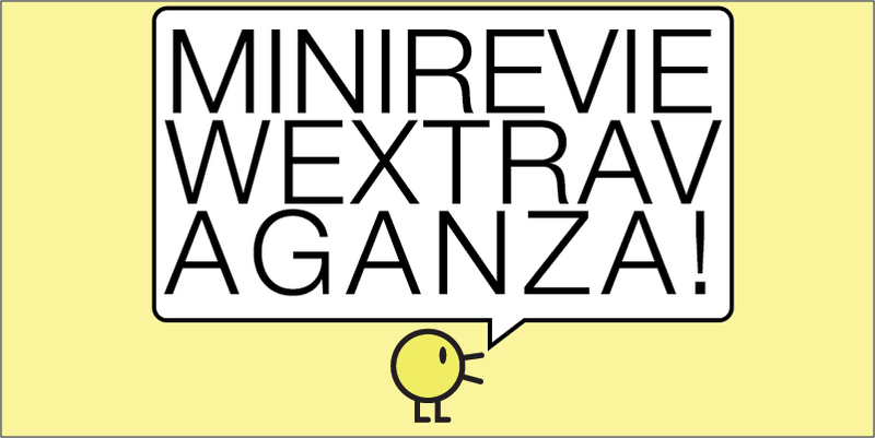 Illustration for article titled Mini-Review-Extravaganza! Thanksgiving Break!